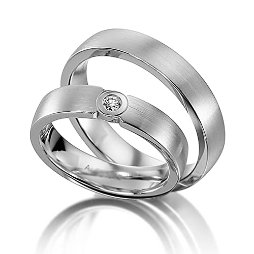 Los anillos de boda anillos de boda anillos de compromiso de oro blanco oro que se