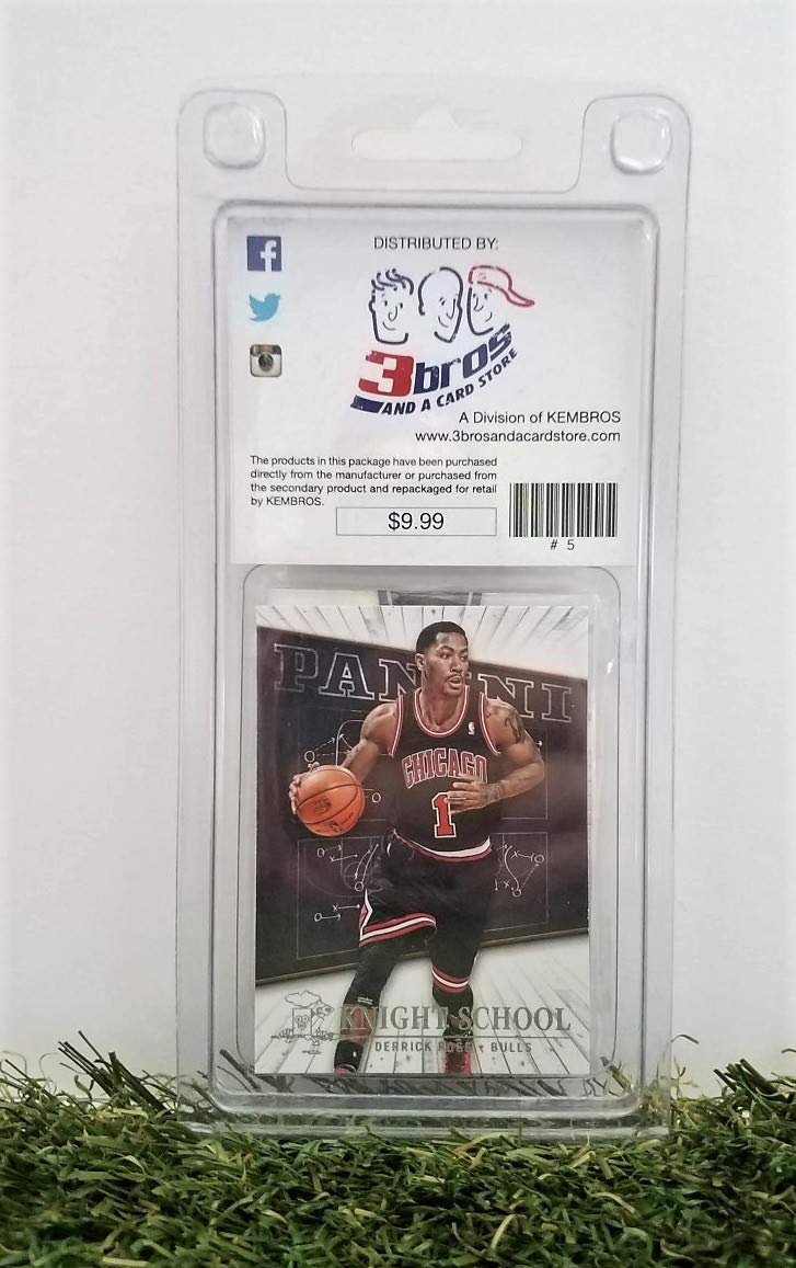 Amazon.com: Dereck Rose- (10) Card Pack NBA Basketball ...