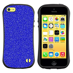 "Hypernova Slim Fit Dual Barniz Protector Caso Case Funda Para Apple iPhone 5C [Azul de invierno Snow White Stars""]"