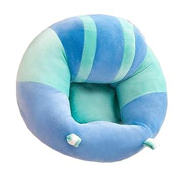 Aimire Cojín para bebé de 6 a 12 meses, asiento de peluche ...