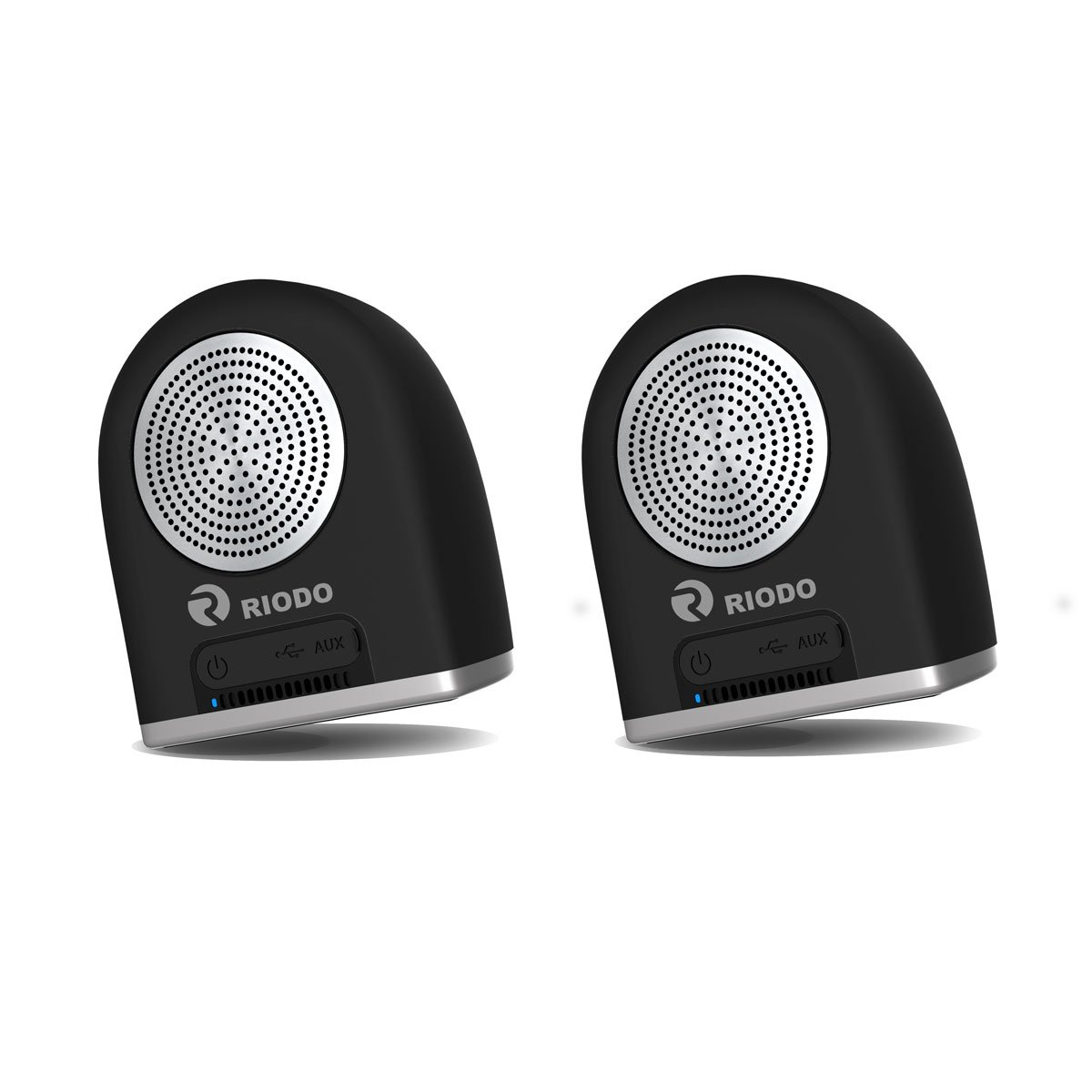 Riodo Portable Bluetooth Speakers, Magnetic True Wireless Stereo Speaker V4.2 Dual TWS Audio for Phones Tablets PC iPhone Android