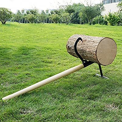 1940 Earth Worth | Timberjack | Log Lifter | Wood Handle | 48 Inches : Garden & Outdoor