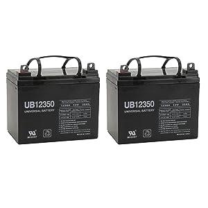 UPG UB12350 (Group U1) Battery - Universal Battery - 12V 35Ah - 2 Pack