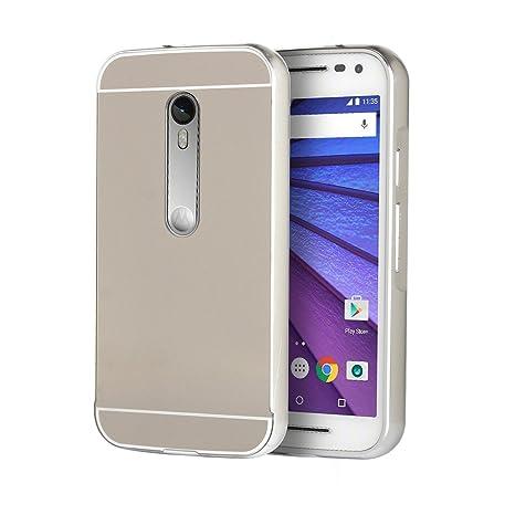 Funda Motorola Moto G3, Forhouse Ultra Delgado Lujo Lustroso ...