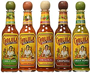 Amazon.com : Cholula Hot Sauce Variety Pack - 5 Different Flavors : Grocery  & Gourmet Food