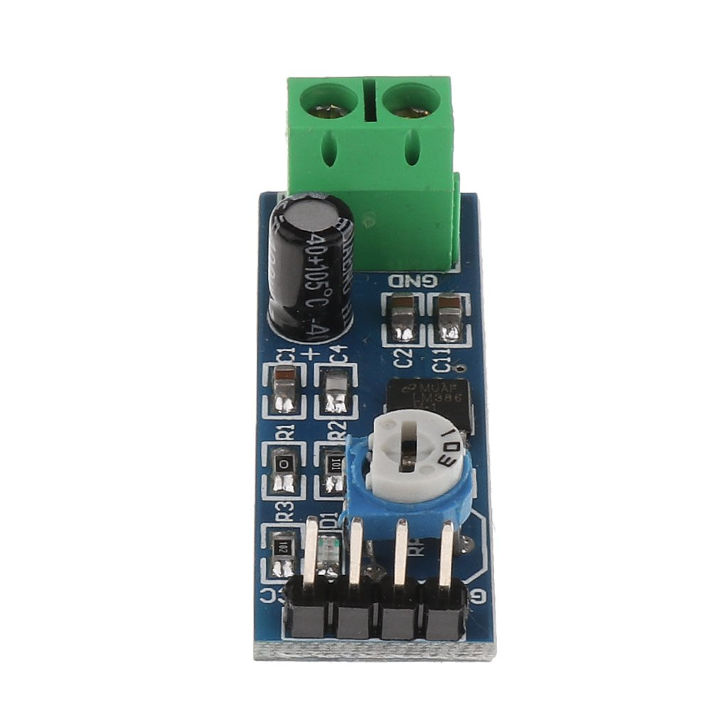 Magideal Lm386 Module 200 Times Gain Audio Amplifier For Circuit With Pcb Raspberry Pi Arduino 4336689166