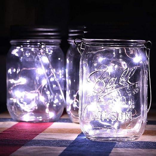 SoTeer - Lámparas solares de cerámica para Bricolaje Colgantes ...