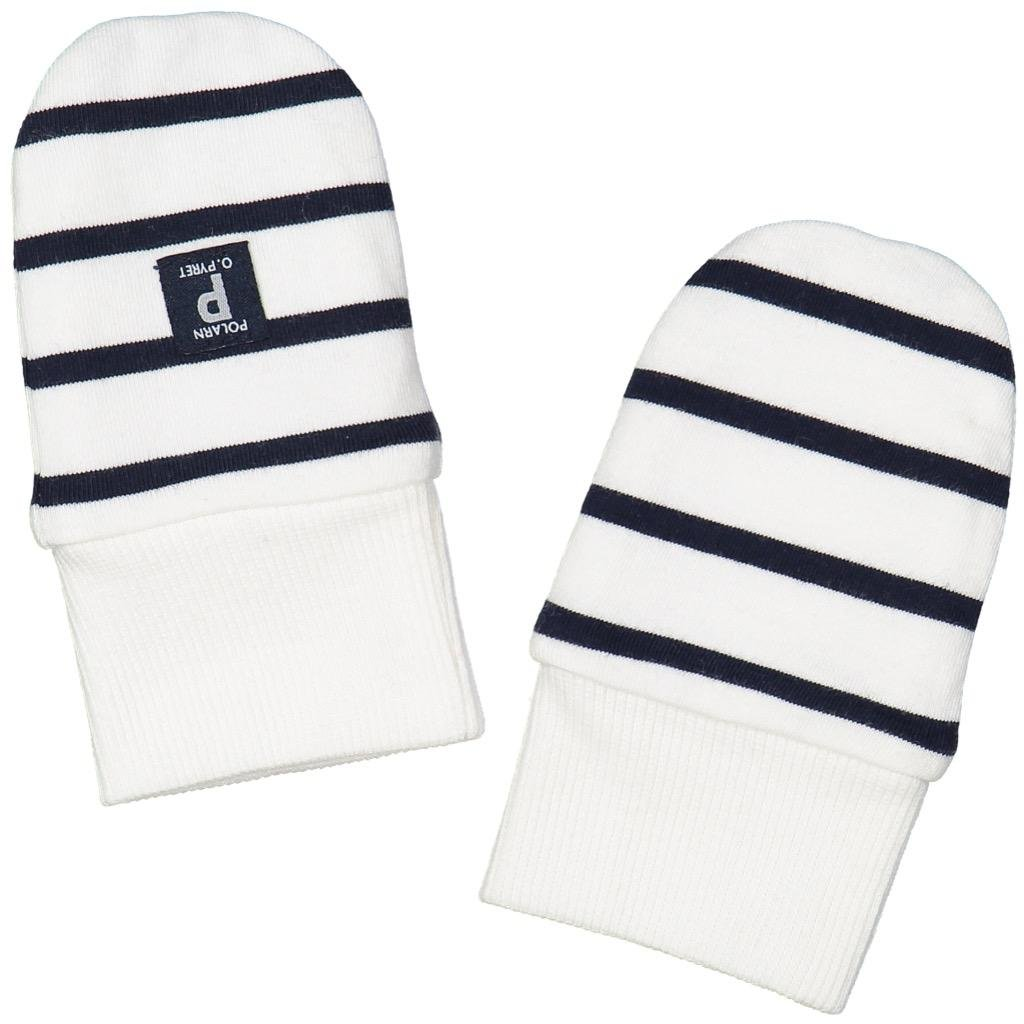 POLARN O. PYRET SIGNATURE STRIPE ECO THUMBLE (NEWBORN)