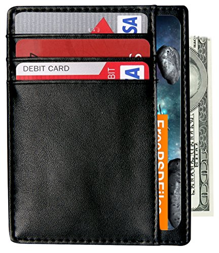 Wallets Minimalist Holder Pocket Blocking