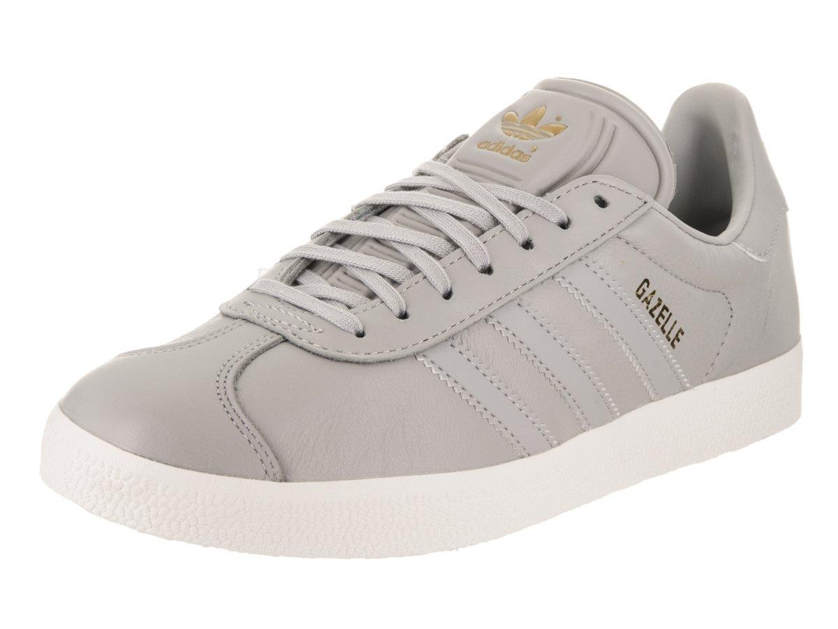 adidas Women's Gazelle Originals Grey/Grey/Gold Metallic Casual Shoe 8.5 Women US
