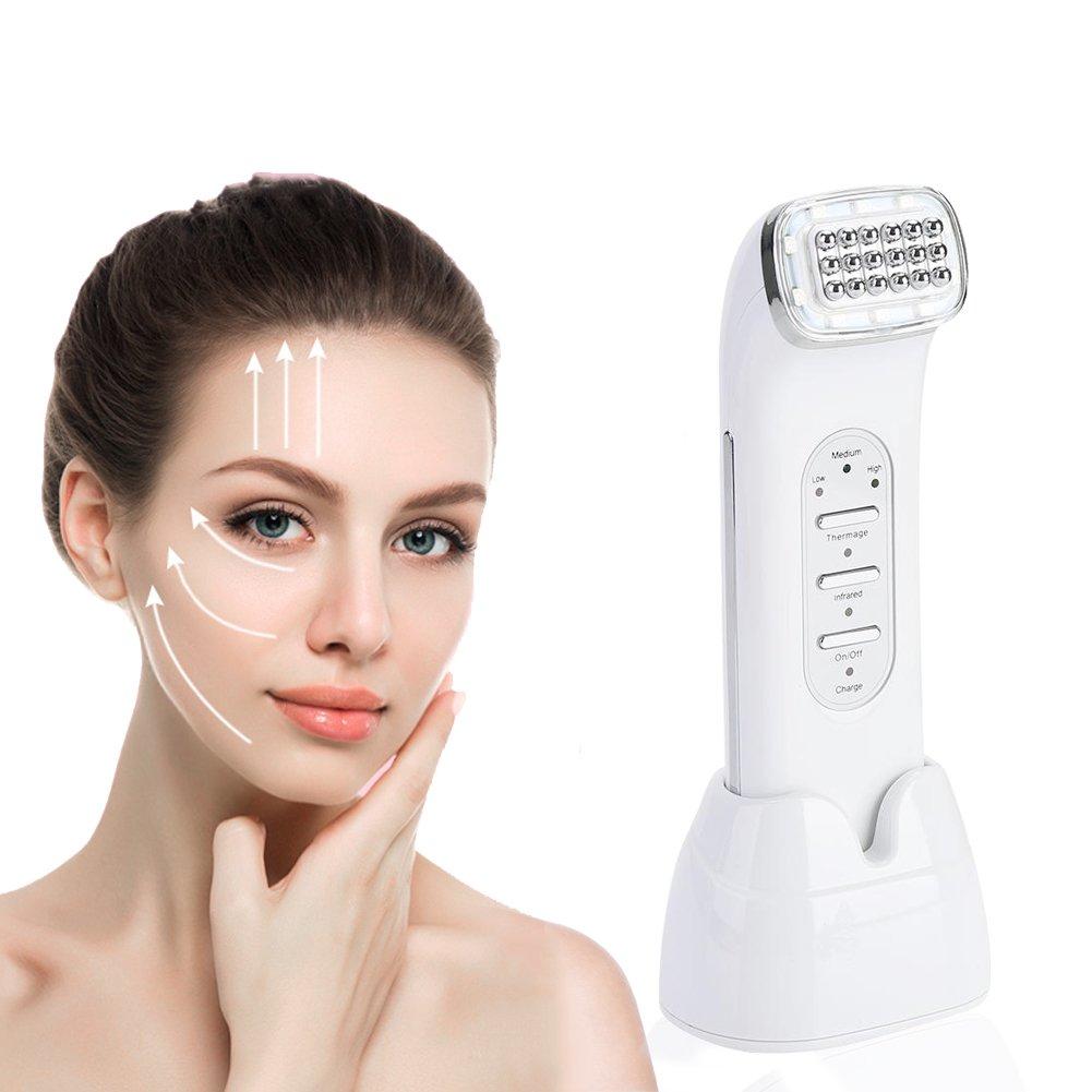 Macchina facciale di rf, macchina di bellezza di rimozione della grinza di ringiovanimento della grinza di ringiovanimento di ringiovanimento di ringiovanimento del viso di radiofrequenza di LED Semme