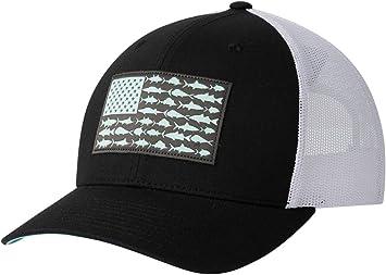 Columbia Unisex PFG Mesh Snap Back Fish Flag Ball Cap: Amazon.es ...