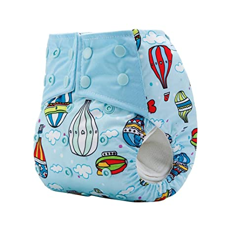 Washable and Adjustable for Babies 0-2 Years babygoal Baby Reusable Swim Diaper Baby Shower Gift /& Swimming Lessons 3ZSD10