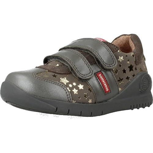 Zapatillas para niï¿œa, color gris , marca BIOMECANICS, modelo Zapatillas Para Niï¿œa BIOMECANICS A719133D Gris: Amazon.es: Zapatos y complementos
