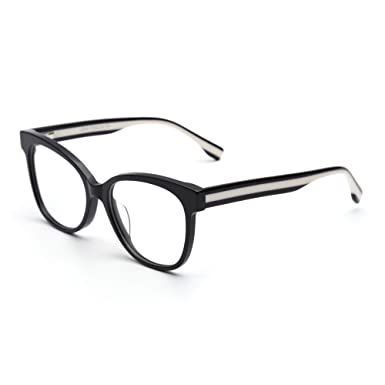 3cc5980687c6 JIM HALO Spring Hinge Non-Prescription Glasses Oversized Eyeglasses Women  Men Black  Amazon.co.uk  Clothing