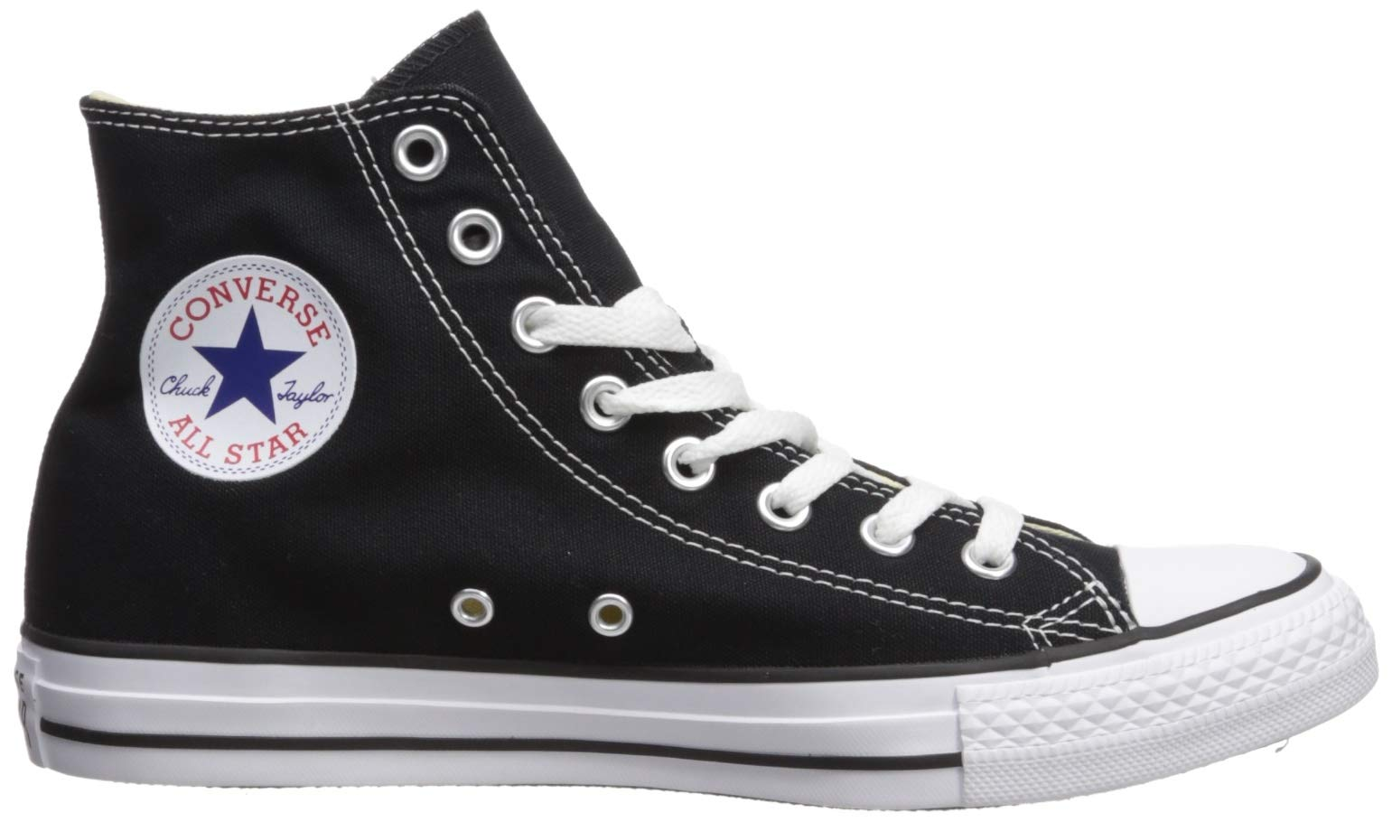 Chuck Taylor All Star Canvas High Top, Black, 4 M US by Converse (Image #12)