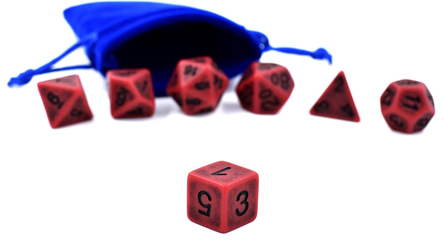 Hengda dice DND Dice Polyhedral Dice Sets for D/&D Dungeons /& Dragons MTG Role Playing Game Dice Including Velvet Bags