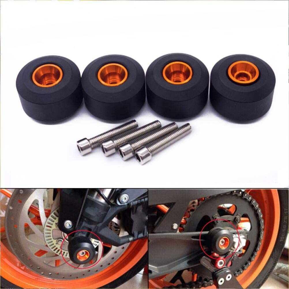For KTM 125 200 390 Duke//RC Front Rear Fork Wheel Frame Slider Crash Protect US