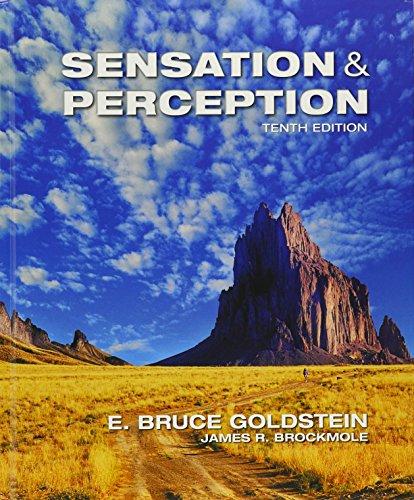 Bundle: Sensation and Perception, 10th + COGLAB 5, 1 term (6 months) Printed Access Card