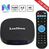 2018 Newest Leelbox Q2 mini Android 7.1 TV Box 2GB+8GB with BT 4.0 Supporting 4K (60Hz) Full HD /H.265 /WiFi