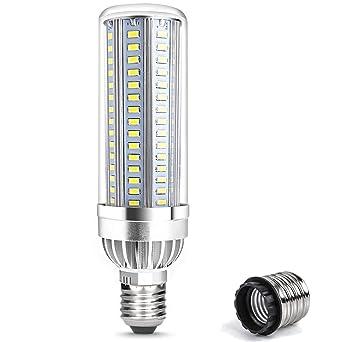 Nicht Dimmbar Hochleistung 360/°Abstrahlwinkel Warmweiss 3000K Energiesparlampe Tageslicht LED Maiskolben Leuchtmittel 30W E27 LED Mais Lampe 30W E27 Warmweiss