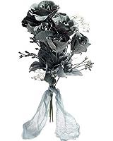 Black Rose Bridal Boo-quet Costume Accessory