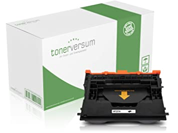 Toner versum Premium Tóner (Negro), Compatible con HP cf237 a/37 A ...