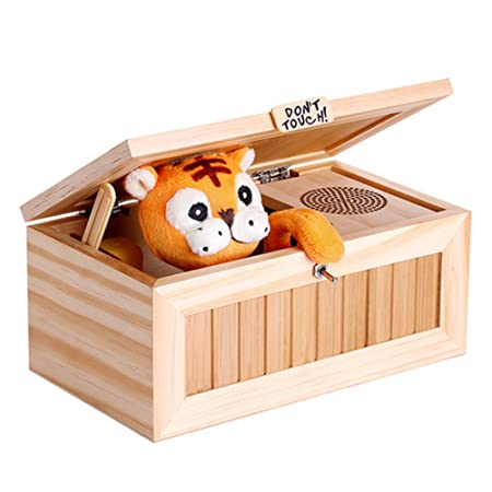SZTARA Cartoon Creative Tiger Useless Box Adult Gifts And Practical ...