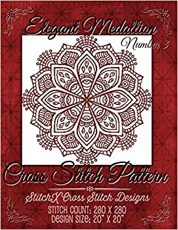 Elegant Medallion 3 Cross Stitch Pattern