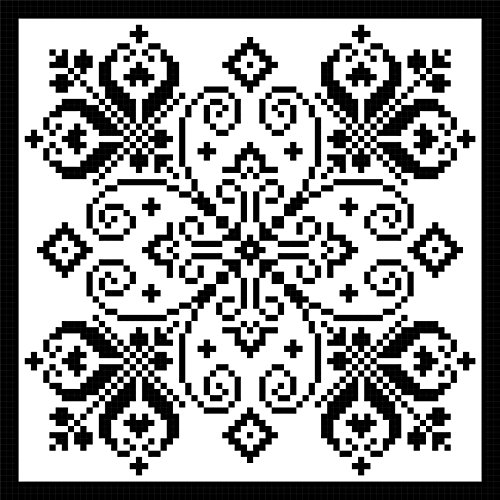 Moroccan Flair: Bold Sweeps in Filet Crochet
