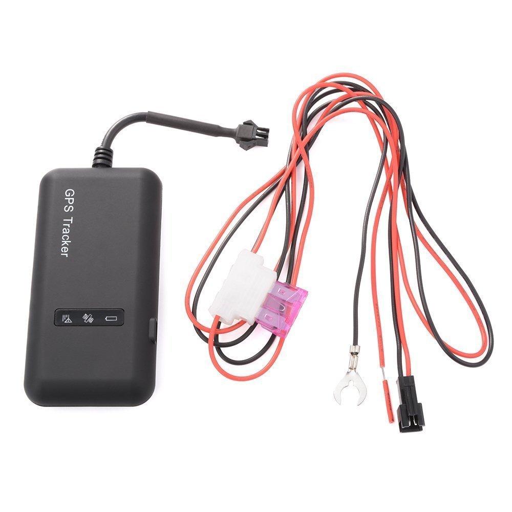 GPS Tracker Vehículo en Tiempo Real GPS Tracking Localizador GPS/gsm/GPRS/SMS Tracker Anti Robo de Motocicleta Bicicleta GPS Dispositivo de rastreo (GT02A). product image