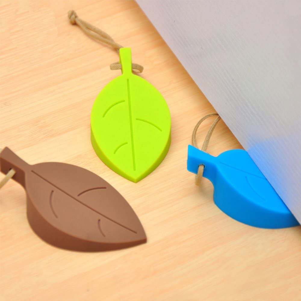 yingzia 4 Pack tope para puerta cuñas puerta fácilmente las lagunas Flexible Silicona cuña para la puerta (funciona en todas las superficies no arañazos: Amazon.es: Oficina y papelería