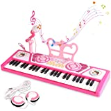BAOLI 49 Keys Piano Keyboard Toy with Microphone for Beginners, Multifunctional Musical Instruments for Kids, Electronic…