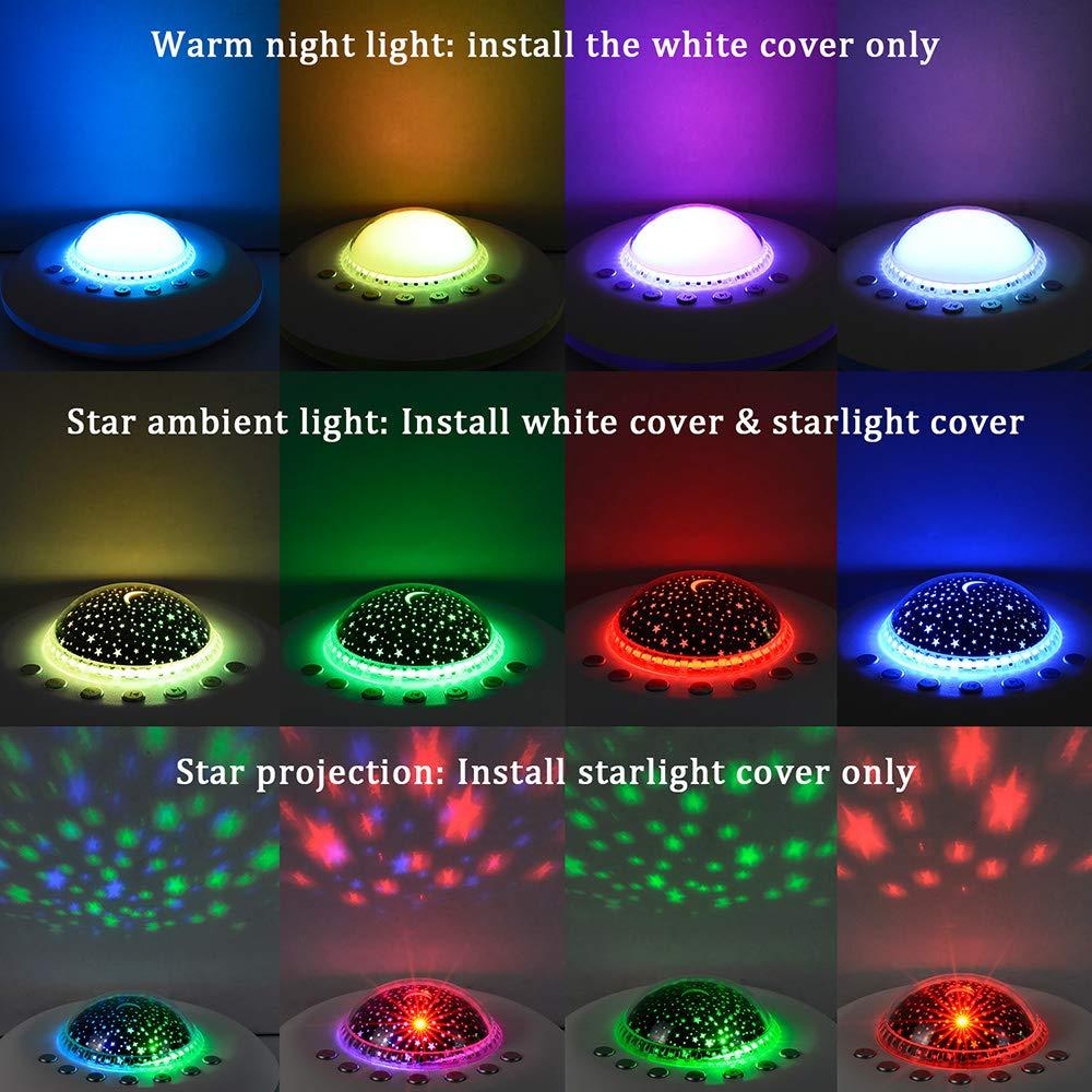 Amazon.com: Máquina de ruido blanca para dormir con luz ...