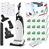 Miele Cat and Dog U1 Dynamic Upright HEPA Vacuum Cleaner with STB101 Turbo Brush Bundle - Includes Miele Performance Pack 16
