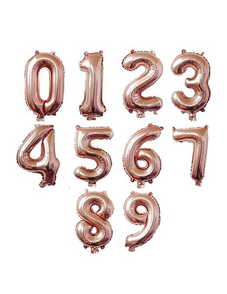 WSJQQ 16/32/40 Pulgadas Número De Color del Arco Iris Grande ...