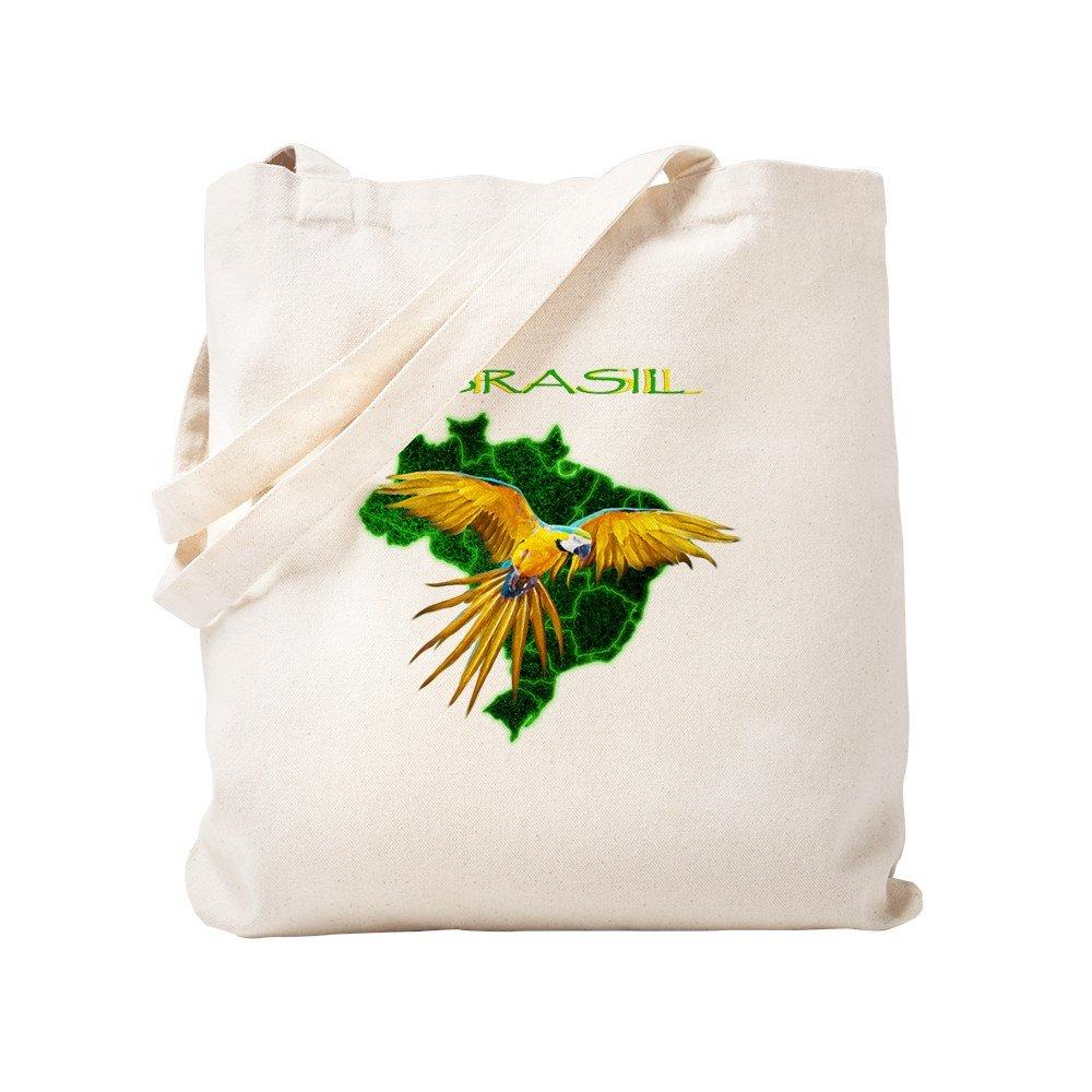 CafePress – Brasil – Araraトートバッグ – ナチュラルキャンバストートバッグ、布ショッピングバッグ S ベージュ 1266439202DECC2 B0773QBVWY S