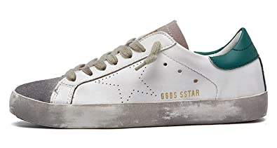 Sexy live New Brand Designer 2018 Italy Golden Genuine Leather Casual Men Trainers  Goose Star Shoes Breathe 0a912d7a0fc5