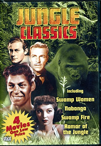 Jungle Classics - Swamp Woman (1955) / Nabonga (1944) / Swamp Fire (1946) / Ramar of the Jungle (1952-1954) ()