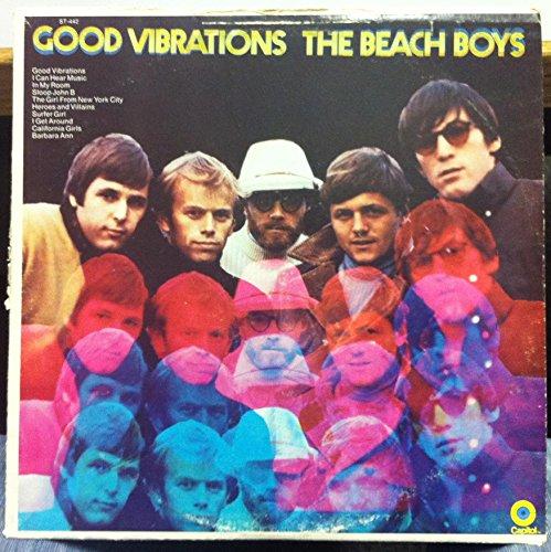 THE BEACH BOYS good vibrations LP Used_VeryGood DT-8-0442 Record Club Press 1970 RARE