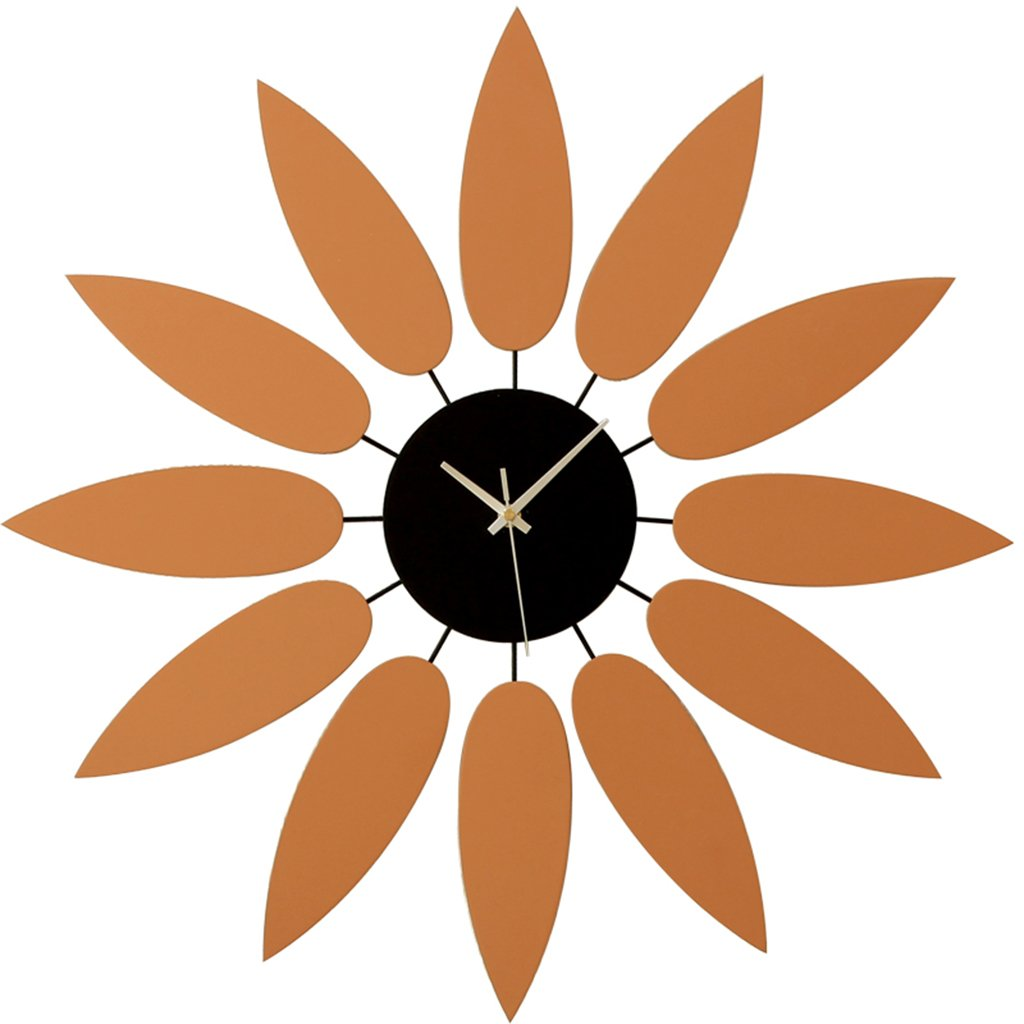 ホーム&時計 アート時計の時計のステッカー木製のミラーの壁のモダンな装飾のリビングルームギフトホーム家具の壁時計 B07BK672SS