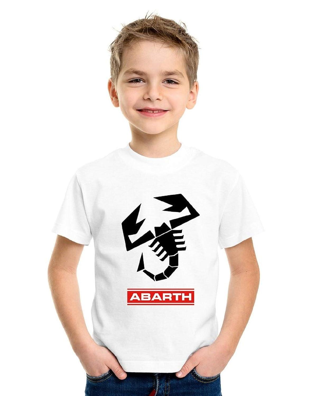 REITANO GROUP T-Shirt Bambino Bimbo Ragazzino Stile Abarth Vintage Corse Club gimkana Racing Auto Rally Moto BIM1