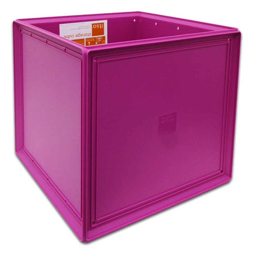 Charmant Amazon.com: Itso Magenta Plastic Storage Cube Bin: Kitchen Storage And  Organization Product Sets: Kitchen U0026 Dining