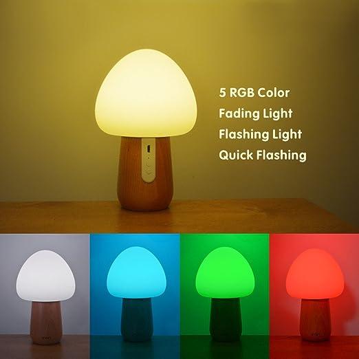Amazon.com: Luz de noche para niños NTMY. LED luz ...