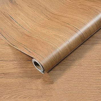 Emoyi Panel de madera papel pintado vinilo autoadhesivo despegar ...