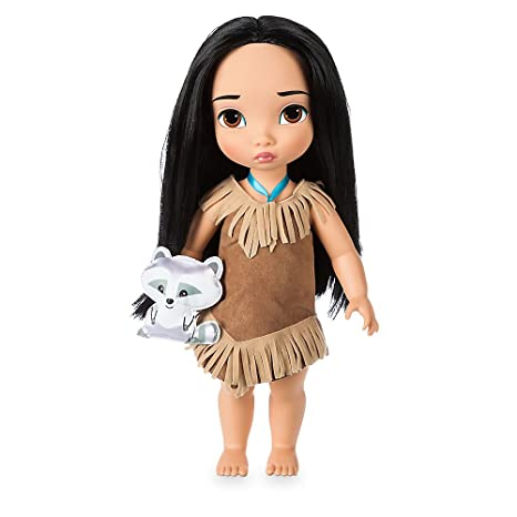 Dolls & Bears Disney Store Animators Collection Pocahontas Doll 16 Inch.