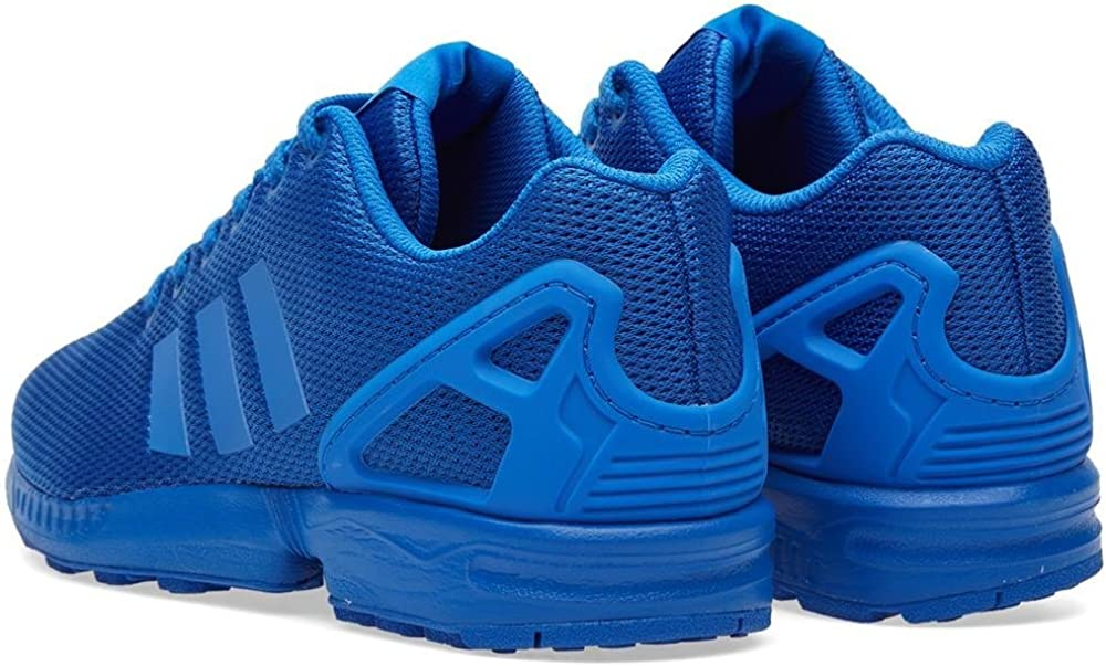 adidas Originals Damen ZX Flux Turnschuh, schwarz Blau Satellite Kobalt