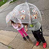 totes Kids Clear Bubble Umbrella with Easy Grip