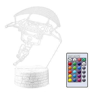 Surenhap Fortnite 3d Veilleuse Halloween Lampe De Table 7 Couleurs