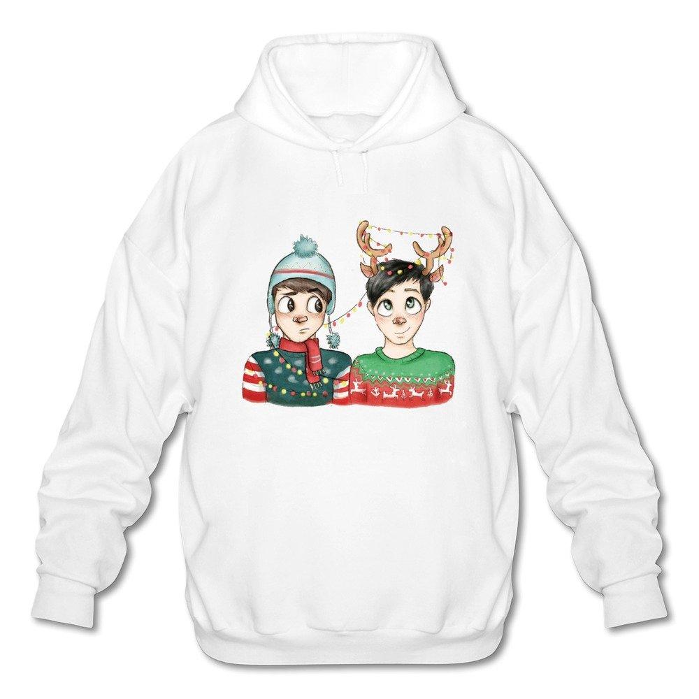 Dan And Phil Christmas Sweater.Men S Youtube Dan And Phil Animated Christmas Cartoon